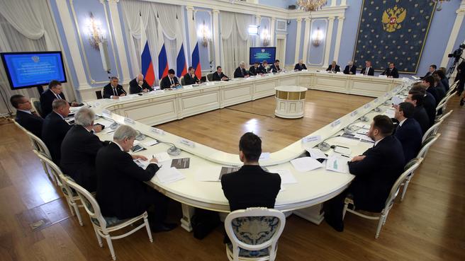 Заседание президиума Совета при Президенте по модернизации экономики и инновационному развитию России