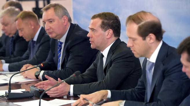 Совещание о кадровом обеспечении модернизации оборонно-промышленного комплекса