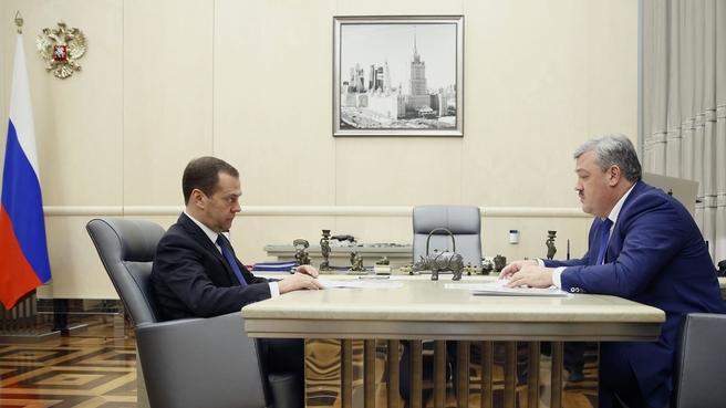 Встреча с главой Республики Коми Сергеем Гапликовым