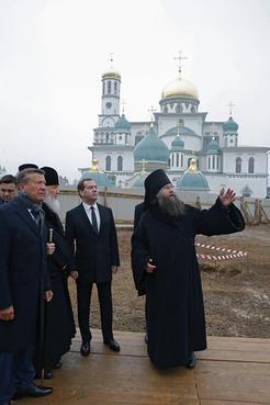Посещение Воскресенского Ново-Иерусалимского ставропигиального мужского монастыря