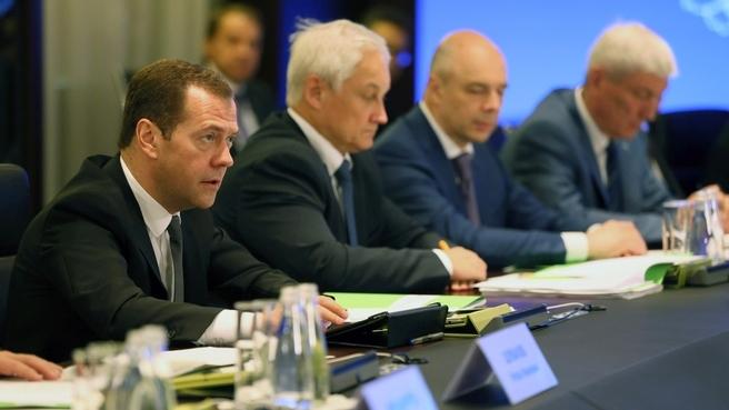 Вступительное слово Дмитрия Медведева на совещании об информационной безопасности в кредитно-финансовой сфере