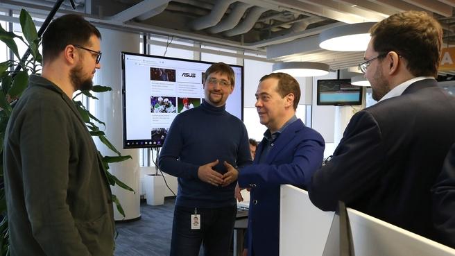 Посещение штаб-квартиры компании Mail.ru Group