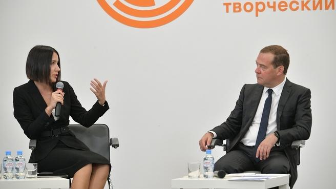 Встреча Дмитрия Медведева с экспертами в области развития городской среды
