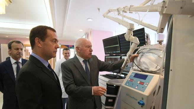 Посещение Научного центра сердечно-сосудистой хирургии имени А.Н.Бакулева