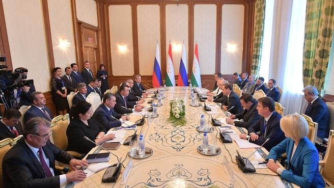 Российско-таджикистанские переговоры