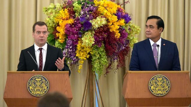 Заявление Дмитрия Медведева для прессы по завершении переговоров