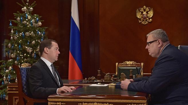 Встреча с генеральным директором Фонда содействия реформированию жилищно-коммунального хозяйства Константином Цициным