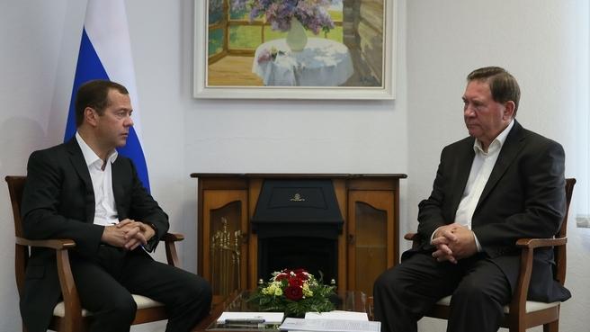 Встреча с губернатором Курской области Александром Михайловым