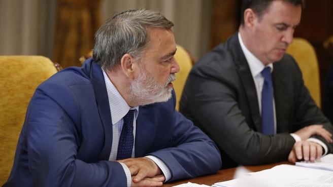 Доклад руководителя ФАС Игоря Артемьева на совещании об исполнении поручений Президента и Правительства России