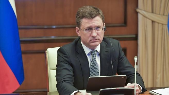 Александр Новак принял участие в 24-м заседании Совместного министерского мониторингового комитета стран ОПЕК+