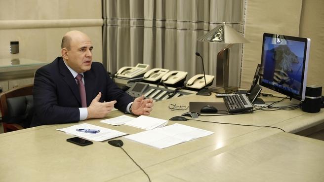 Заседание президиума Координационного совета при Правительстве по борьбе с распространением новой коронавирусной инфекции на территории Российской Федерации