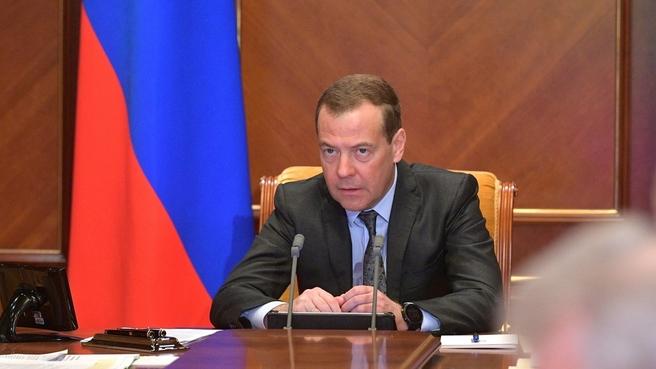 Вступительное слово Дмитрия Медведева на селекторном совещании о ходе весенних полевых работ