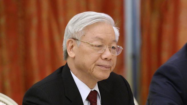 Генеральный секретарь Центрального комитета Коммунистической партии Вьетнама Нгуен Фу Чонг