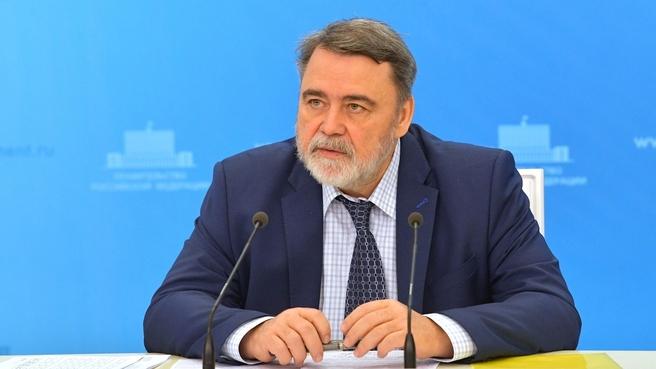 Брифинг руководителя Федеральной антимонопольной службы Игоря Артемьева