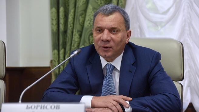 Юрий Борисов на совещании о выпуске оборонной и гражданской продукции организациями оборонно-промышленного комплекса Московской области