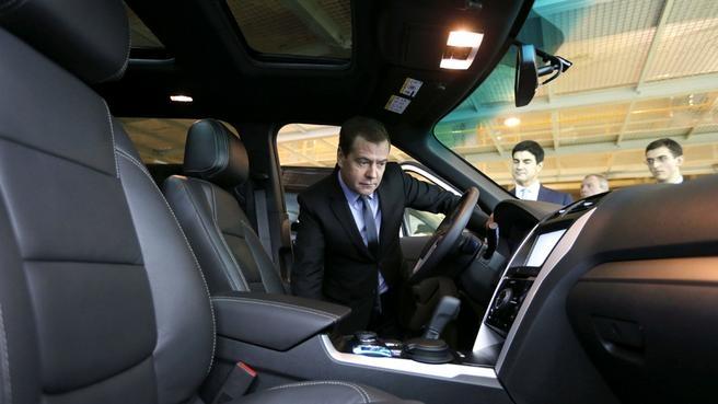 Осмотр автомобиля Ford EcoSport