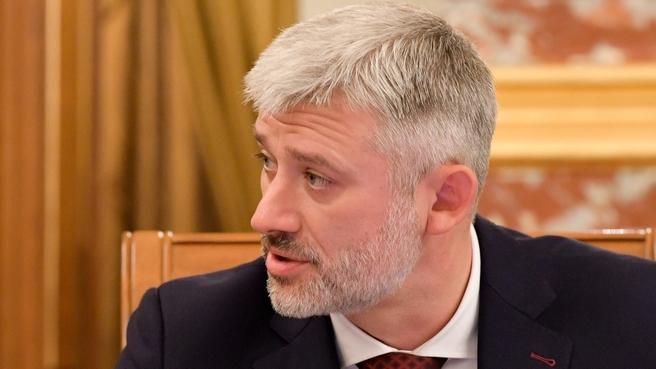 Сообщение Евгения Дитриха на заседании Правительства