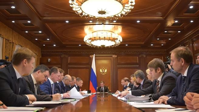Совещание о ходе реализации Плана действий Правительства Российской Федерации, направленных на обеспечение стабильного социально-экономического развития Российской Федерации в 2016 году, и о поддержке приоритетных отраслей промышленности в 2017 году