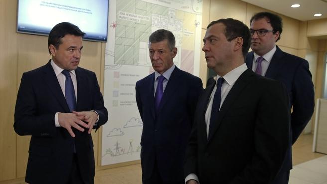 Посещение Центра содействия строительству при Правительстве Московской области