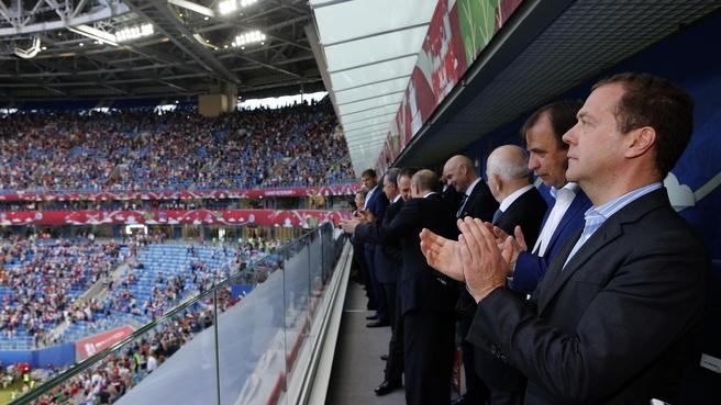 Открытие Кубка конфедераций FIFA 2017