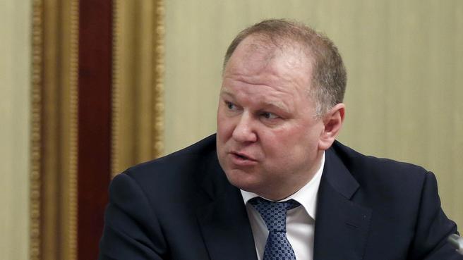 Доклад губернатора Калининградской Николая Цуканова на заседании комиссии