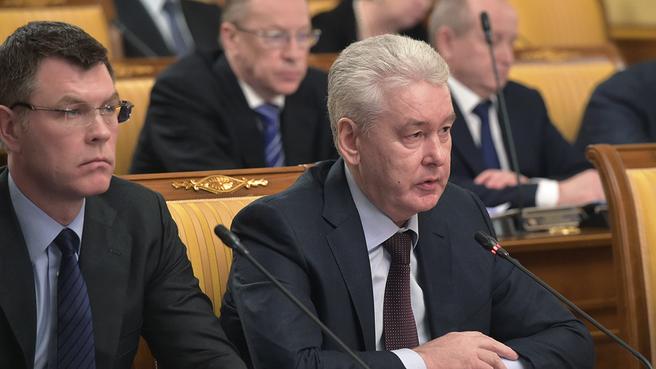 Сообщение Сергея Собянина на заседании Правительства