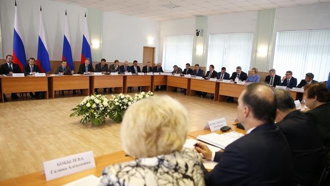 Заседание Правительственной комиссии по вопросам агропромышленного комплекса и устойчивого развития сельских территорий