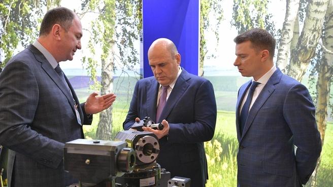 Михаил Мишустин на международной специализированной выставке «Металлообработка-2021»