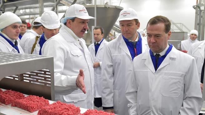 Посещение предприятия агропромышленного холдинга «Мираторг»
