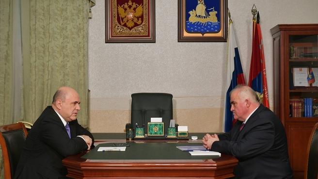 Встреча с губернатором Костромской области Сергеем Ситниковым