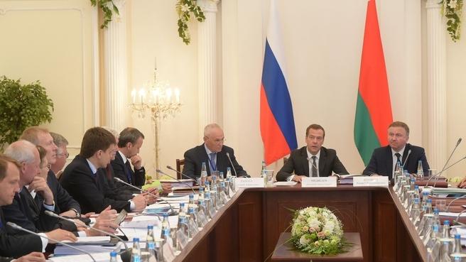 Заседание Совета Министров Союзного государства