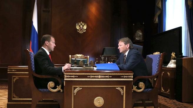 Встреча с Уполномоченным при Президенте по защите прав предпринимателей Борисом Титовым