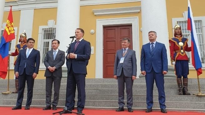 Рабочий визит Алексея Гордеева в Монголию