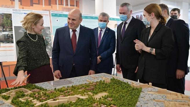 Презентация макета нового кампуса Новосибирского государственного университета
