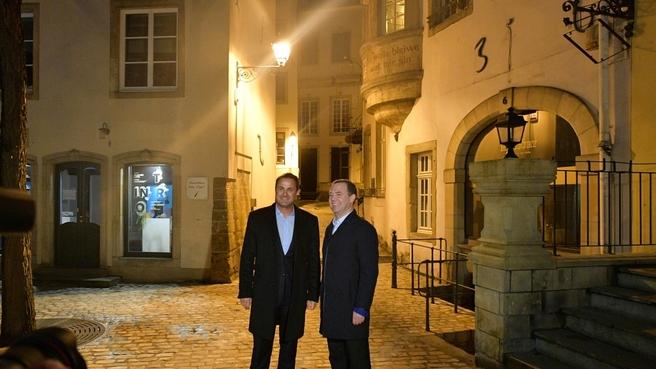Осмотр исторической части Люксембурга
