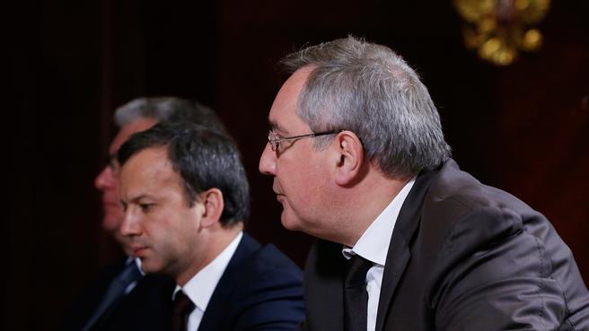 Заместитель Председателя Правительства Дмитрий Рогозин