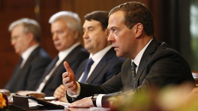 Вступительное слово Дмитрия Медведева на заседании попечительского совета Фонда поддержки олимпийцев России
