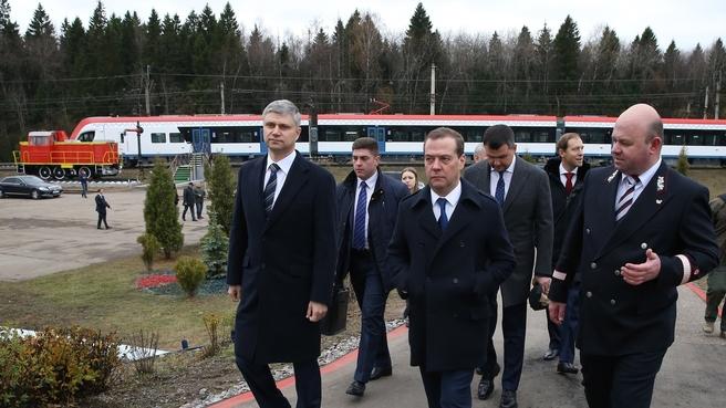 Посещение станции Бекасово-Сортировочное