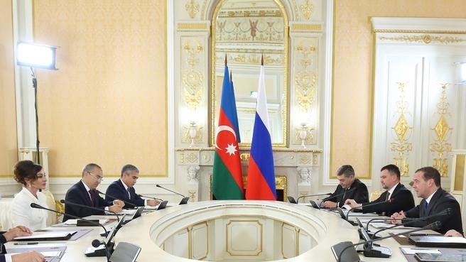 Встреча  с Первым вице-президентом Азербайджана Мехрибан Алиевой