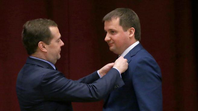 С заместителем Министра экономического развития Александром Цыбульским