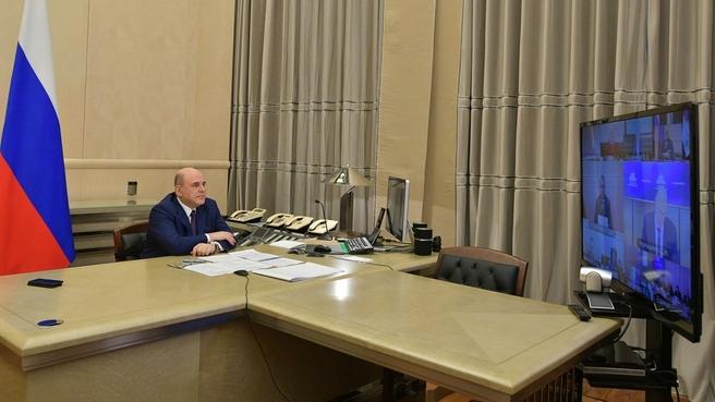 Встреча Михаила Мишустина с руководством фракции «Единая Россия» в Государственной Думе