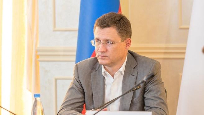 Совещание по газификации Республики Крым