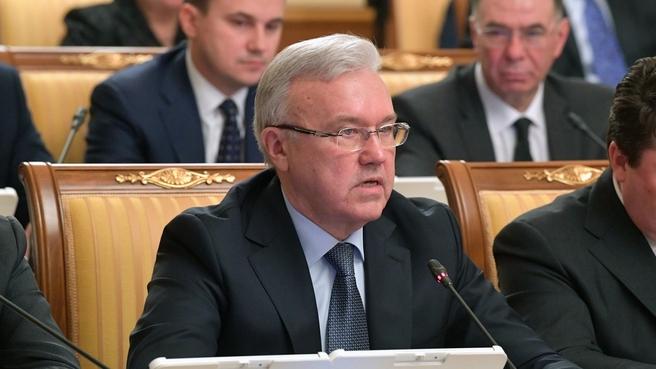 Сообщение губернатора Красноярского края Александра Усса