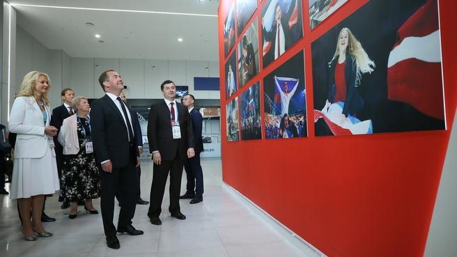 Посещение Международного выставочного центра «Казань Экспо»