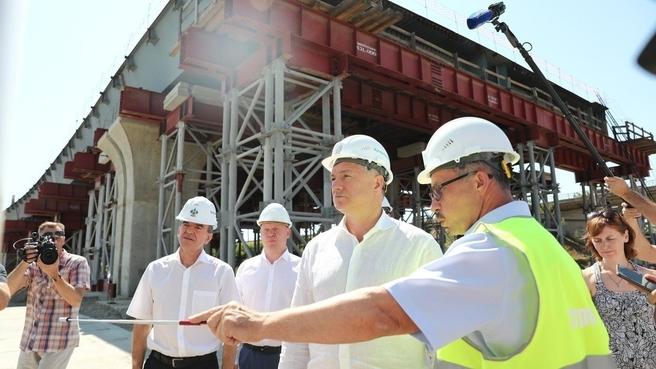 Марат Хуснуллин посетил Краснодарский край