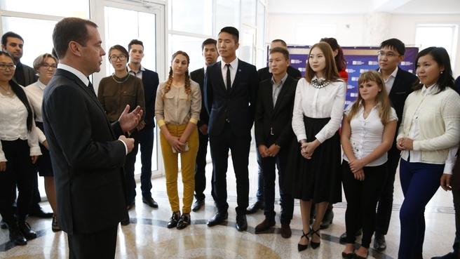 Встреча со студентами Бурятского государственного университета