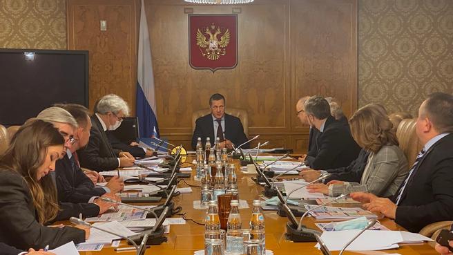 Юрий Трутнев провёл первое заседание оргкомитета по подготовке и обеспечению председательства России в Арктическом совете в 2021–2023 годах