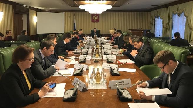 Алексей Гордеев провёл заседание Правительственной комиссии по вопросам обращения с отходами производства и потребления