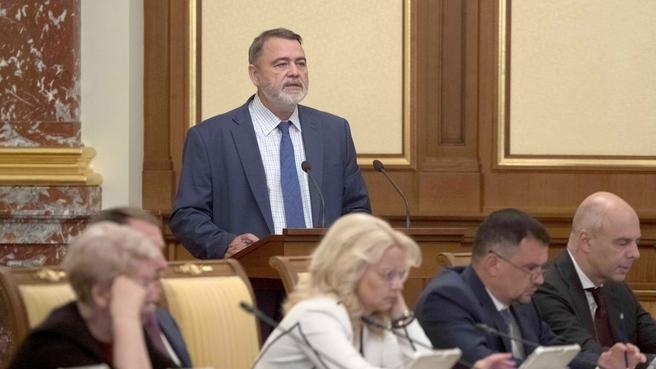 Доклад руководителя ФАС Игоря Артемьева на заседании Правительства