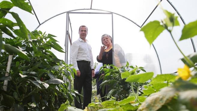 Посещение садоводческого некоммерческого товарищества «Химфарм»